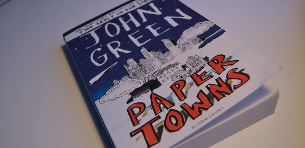 Citaten Uit Paper Towns : Review paper towns john green boeken recensies i