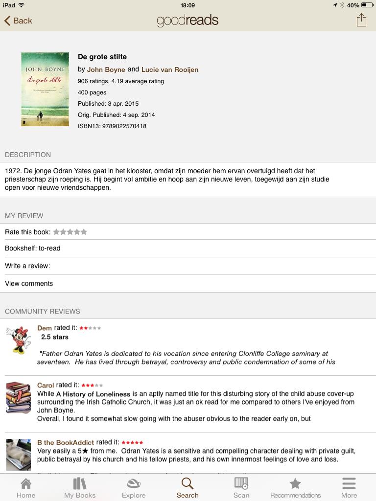 Goodreads boeken recensies i heart books - Maak een hoofdbord aan ...